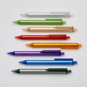 KACO TUBE Gel Pen Pena Pulpen Bolpoin Aluminium  0.5mm 1 PCS - K1024 (Black Ink) - Black - 7