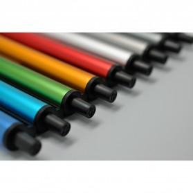KACO TUBE Gel Pen Pena Pulpen Bolpoin Aluminium  0.5mm 1 PCS - K1024 (Black Ink) - Black - 9