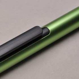 KACO TUBE Gel Pen Pena Pulpen Bolpoin Aluminium  0.5mm 1 PCS - K1024 (Black Ink) - Black - 11