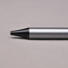 KACO TUBE Gel Pen Pena Pulpen Bolpoin Aluminium  0.5mm 1 PCS - K1024 (Black Ink) - Black - 12