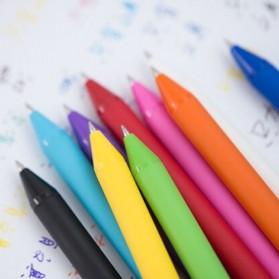KACO PURE Candy Gel Pen Pena Pulpen Bolpoin 0.5mm 10 PCS (Colorful Ink) - K1015 - Mix Color - 3