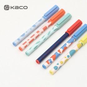 KACO JUMBO POP Gel Pen Pena Pulpen Bolpoin 0.5mm 3 PCS - KA0126 (Black Blue Red Ink) - Multi-Color - 4