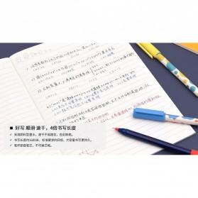 KACO JUMBO POP Gel Pen Pena Pulpen Bolpoin 0.5mm 3 PCS - KA0126 (Black Blue Red Ink) - Multi-Color - 7