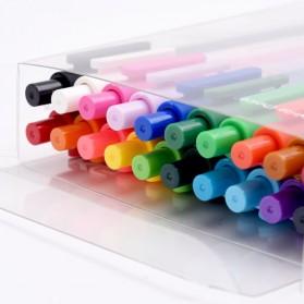 KACO PURE Candy Gel Pen Pena Pulpen Bolpoin 0.5mm 20 PCS (Colorful Ink) - Mix Color - 4
