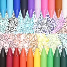 KACO PURE Candy Gel Pen Pena Pulpen Bolpoin 0.5mm 20 PCS (Colorful Ink) - Mix Color - 6