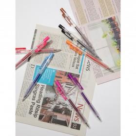 KACO TURBO Gel Pen Pena Pulpen Bolpoin 0.5mm 10 PCS - K5 (Black Ink) - Black - 11