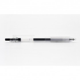 KACO KEYBO Gel Pen Pena Pulpen Bolpoin Transparent 0.5mm 10 PCS - KA0124 (Black Ink) - Black - 7