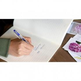 KACO KEYBO Gel Pen Pena Pulpen Bolpoin Transparent 0.5mm 10 PCS - KA0124 (Black Ink) - Black - 10