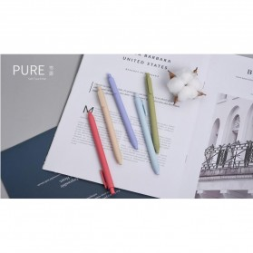 KACO PURE Classic II Gel Pen Pena Pulpen Bolpoin 0.5mm 5 PCS (Colorful Ink) - Mix Color - 7