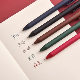 KACO PURE Classic II Gel Pen Pena Pulpen Bolpoin 0.5mm 5 PCS (Colorful Ink) - Mix Color - 17