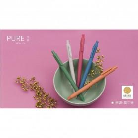 KACO PURE Vintage Gel Pen Pena Pulpen Bolpoin 0.5mm 5 PCS - K1015(Colorful Ink) - Mix Color - 3