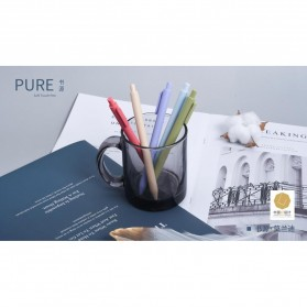 KACO PURE Vintage Gel Pen Pena Pulpen Bolpoin 0.5mm 5 PCS - K1015(Colorful Ink) - Mix Color - 5