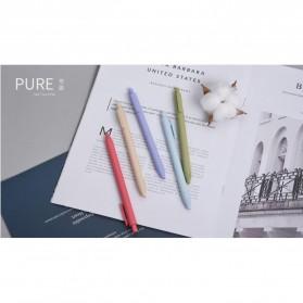 KACO PURE Vintage Gel Pen Pena Pulpen Bolpoin 0.5mm 5 PCS - K1015(Colorful Ink) - Mix Color - 7