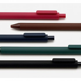 KACO PURE Vintage Gel Pen Pena Pulpen Bolpoin 0.5mm 5 PCS - K1015(Colorful Ink) - Mix Color - 13