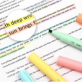 KACO PURE H Plastic Highlighter I Spidol Stabilo Marker Liner 5 PCS - K1045 (Colorful Ink) - Mix Color - 2