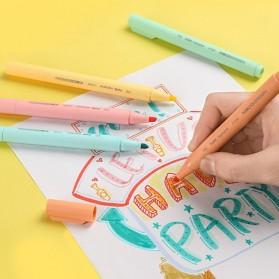 KACO PURE H Plastic Highlighter I Spidol Stabilo Marker Liner 5 PCS - K1045 (Colorful Ink) - Mix Color - 10