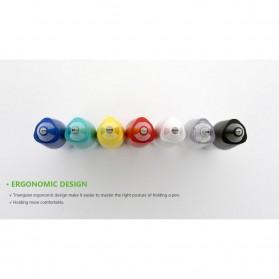 KACO SKY Rollerball Gel Pen Pena Pulpen Bolpoin 0.5mm 1 PCS (Black Ink) - Black - 13