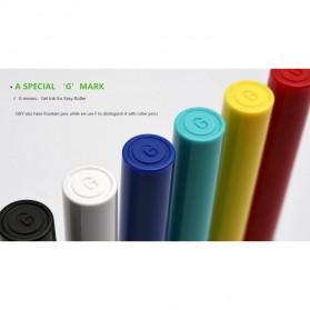 KACO SKY Rollerball Gel Pen Pena Pulpen Bolpoin 0.5mm 1 PCS (Black Ink) - Black - 14