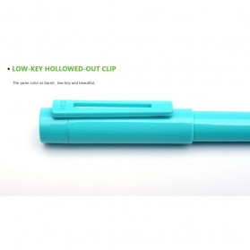 KACO SKY Rollerball Gel Pen Pena Pulpen Bolpoin 0.5mm 1 PCS (Black Ink) - Black - 15