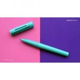 KACO SKY Rollerball Gel Pen Pena Pulpen Bolpoin 0.5mm 1 PCS (Black Ink) - Black - 16