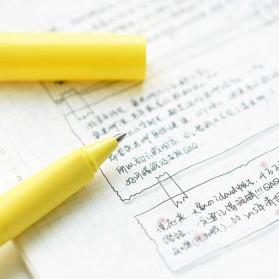 KACO SKY Rollerball Gel Pen Pena Pulpen Bolpoin 0.5mm 1 PCS (Black Ink) - Black - 5