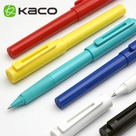 KACO SKY Rollerball Gel Pen Pena Pulpen Bolpoin 0.5mm 1 PCS (Black Ink) - Black - 6