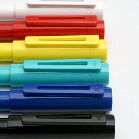 KACO SKY Rollerball Gel Pen Pena Pulpen Bolpoin 0.5mm 1 PCS (Black Ink) - Black - 7
