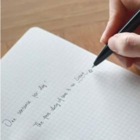 KACO BRIDGE Gel Pen Pena Pulpen Bolpoin 0.5mm 10 PCS (Black Ink) - Black - 3