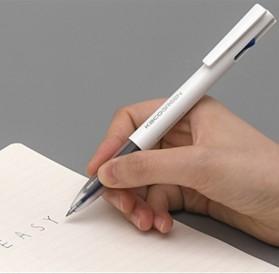 KACO EASY 4 in 1 Multifunction Gel Pen Pena Pulpen Bolpoin 0.5mm 1 PCS - K1041 (Black Blue Red Green Ink) - White - 2