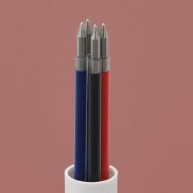 KACO EASY 4 in 1 Multifunction Gel Pen Pena Pulpen Bolpoin 0.5mm 1 PCS - K1041 (Black Blue Red Green Ink) - White - 7