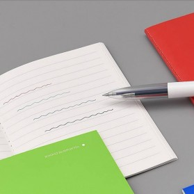 KACO EASY 4 in 1 Multifunction Gel Pen Pena Pulpen Bolpoin 0.5mm 1 PCS - K1041 (Black Blue Red Green Ink) - White - 10