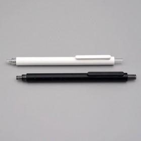 KACO ROCKET Gel Pen Pena Pulpen Bolpoin 0.5mm 10 PCS - K1028 (Black / Blue Ink) - Black - 5