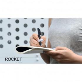KACO ROCKET Gel Pen Pena Pulpen Bolpoin 0.5mm 10 PCS - K1028 (Black / Blue Ink) - Black - 11