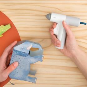 HOTO Refill Isi Pistol Lem Tembak Hot Melt Glue Stick 125 mm 20 PCS - QWRJB001 - Mix Color - 2