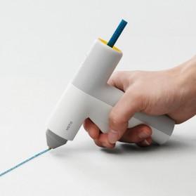 HOTO Refill Isi Pistol Lem Tembak Hot Melt Glue Stick 125 mm 20 PCS - QWRJB001 - Mix Color - 3