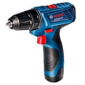 BOSCH Bor Listrik Power Drill Lithium-ion Cordless - GSR 120-LI - Black/Blue