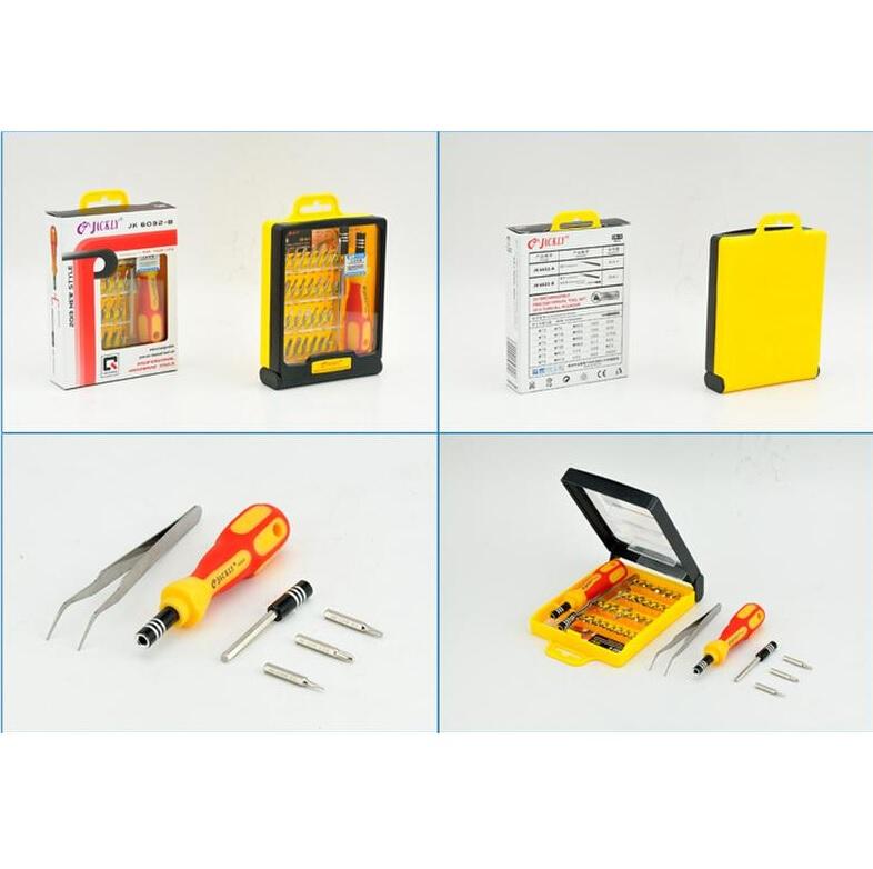 jackly 33 in 1 precision screwdriver professional repair tool kit jk 6032b. Black Bedroom Furniture Sets. Home Design Ideas