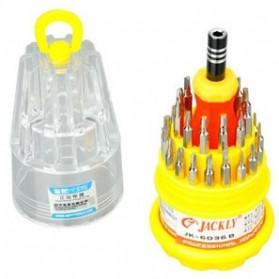 Jackly 31 in 1 Precision Screwdriver Professional Repair Tool Kit - JK-6036A - 2
