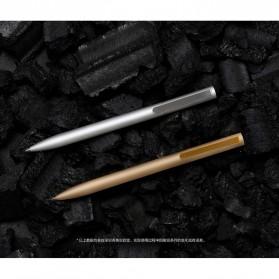 Xiaomi Mi Jia Metal Signature Pen Pulpen (Original) - Silver - 5
