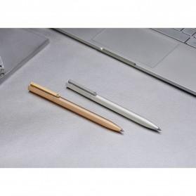 Xiaomi Mi Jia Metal Signature Pen Pulpen (Original) - Silver - 7