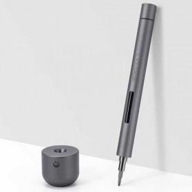 Xiaomi Wowstick Obeng Elektrik Lithium Precision Screwdriver - 1F Plus - Silver