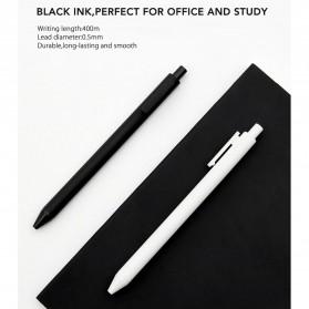 Xiaomi Mijia Kacogreen Signing Gel Ink Pen Pena Pulpen Hitam 10 PCS - Black - 4