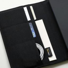 Xiaomi Mijia Kaco Green Noble Paper NoteBook Card Slot Wallet A5 - K1214 - Gray - 5