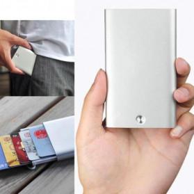 Xiaomi MIIIW Dompet Kartu Premium Card Case Automatic Aluminium - MWCH01 - Silver - 5