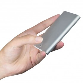 Xiaomi MIIIW Dompet Kartu Premium Card Case Automatic Aluminium - MWCH01 - Dark Gray - 7