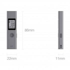 Xiaomi DUKA Laser Pengukur Jarak Laser Distance Meter Range Finder 40M - LS-P - Gray - 9