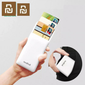 Xiaomi Youpin Qualitell Kotak Kartu Nama Electronic Business Card Holder - White