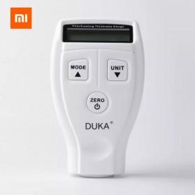 DUKA Alat Ukur Ketebalan Digital Thickness Caliper Micrometer Gauge LCD Display - CH-1 - White