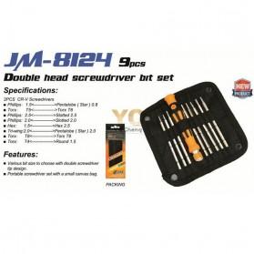 Jakemy 9 in 1 Precision Screwdriver Repair Tool Kit - JM-8124 - 3