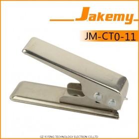 Jakemy Universal Micro SIM Card Cutter - Silver